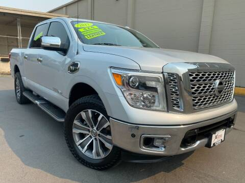 2017 Nissan Titan for sale at Xtreme Truck Sales in Woodburn OR