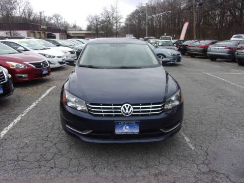 2013 Volkswagen Passat for sale at Balic Autos Inc in Lanham MD