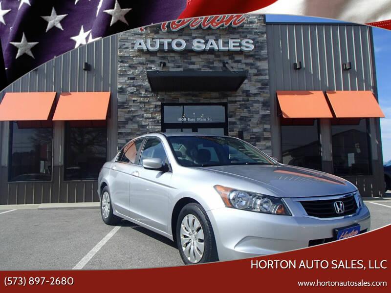 2009 Honda Accord for sale at HORTON AUTO SALES, LLC in Linn MO