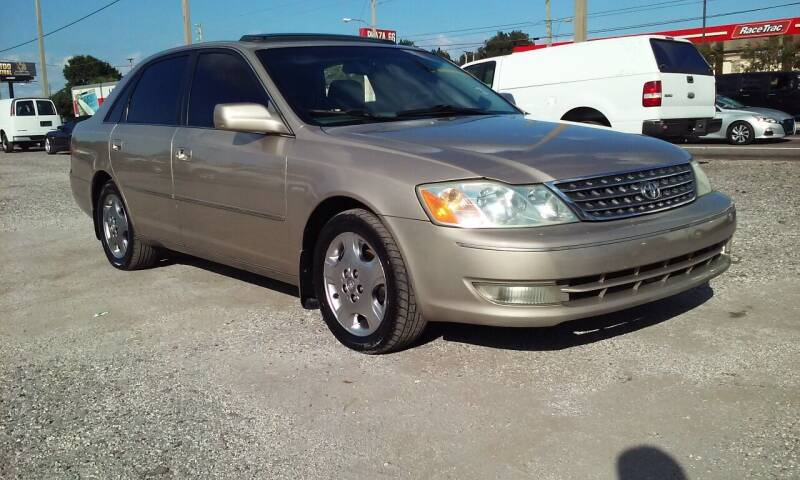 2003 Toyota Avalon for sale at Pinellas Auto Brokers in Saint Petersburg FL