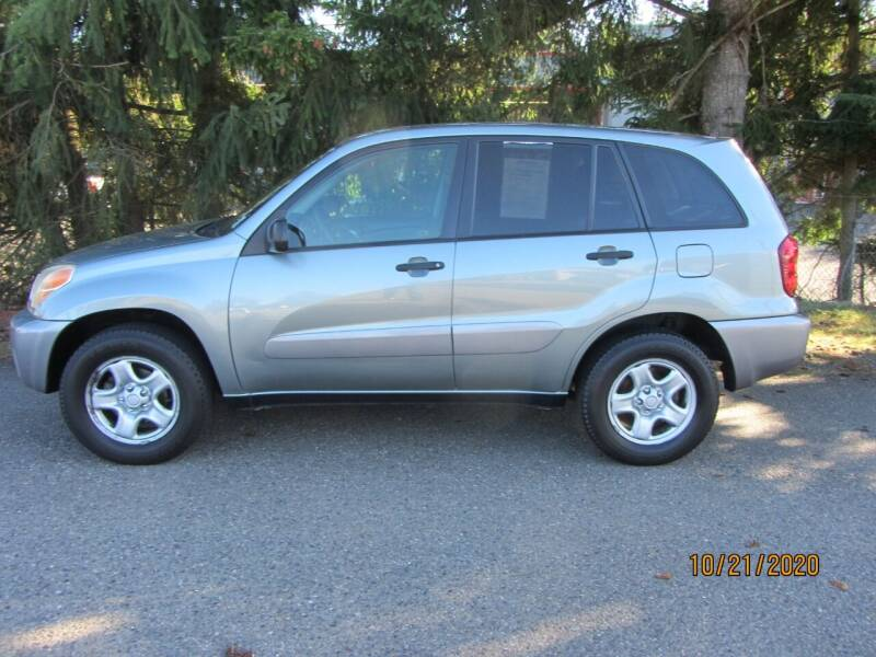 2005 Toyota RAV4 for sale at B & C Northwest Auto Sales in Olympia WA