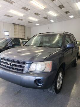 2003 Toyota Highlander for sale at LOWEST PRICE AUTO SALES, LLC in Oklahoma City OK