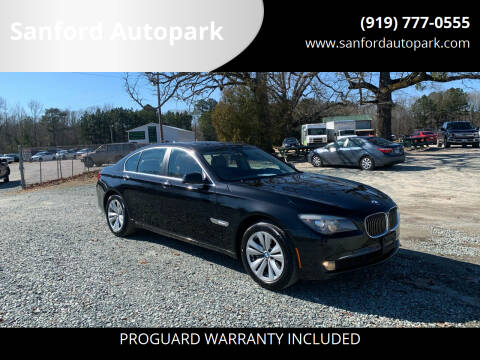 2012 BMW 7 Series for sale at Sanford Autopark in Sanford NC