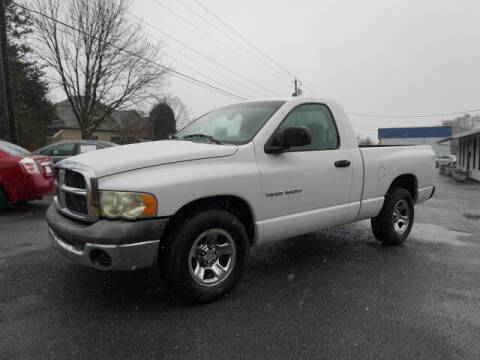 2002 Dodge Ram Pickup 1500 for sale at CHAPARRAL USED CARS in Piney Flats TN