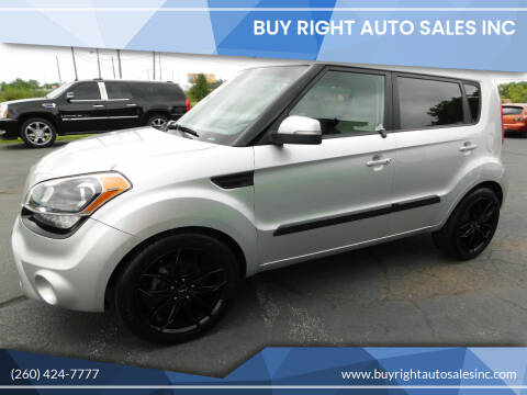 2013 Kia Soul for sale at Buy Right Auto Sales Inc in Fort Wayne IN