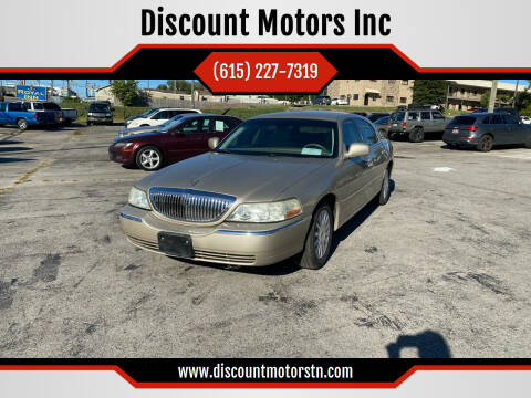 2004 Lincoln Town Car for sale at Discount Motors Inc in Nashville TN