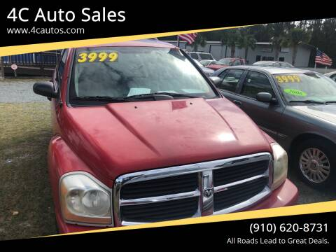 2004 Dodge Durango for sale at 4C Auto Sales in Wilmington NC