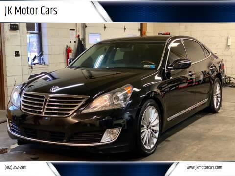 2014 Hyundai Equus for sale at JK Motor Cars in Pittsburgh PA