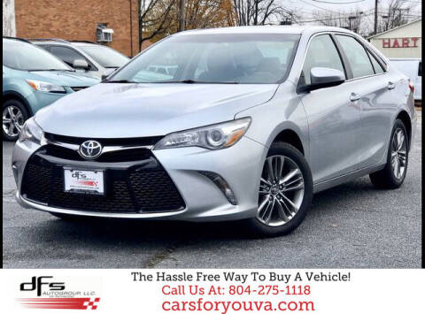 2017 Toyota Camry for sale at DFS Auto Group of Richmond in Richmond VA