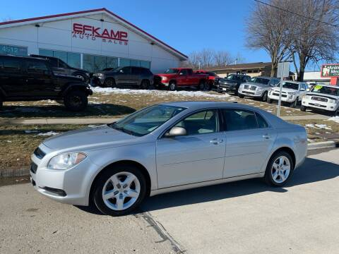 2012 Chevrolet Malibu for sale at Efkamp Auto Sales LLC in Des Moines IA