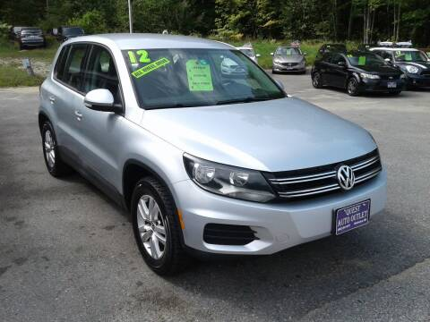2012 Volkswagen Tiguan for sale at Quest Auto Outlet in Chichester NH