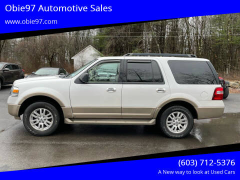 2014 Ford Expedition for sale at Obie97 Automotive Sales in Londonderry NH