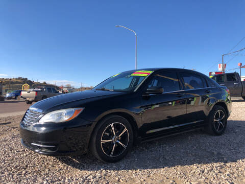 2013 Chrysler 200 for sale at 1st Quality Motors LLC in Gallup NM