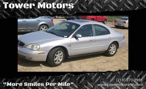 2001 Mercury Sable for sale at Tower Motors in Brainerd MN