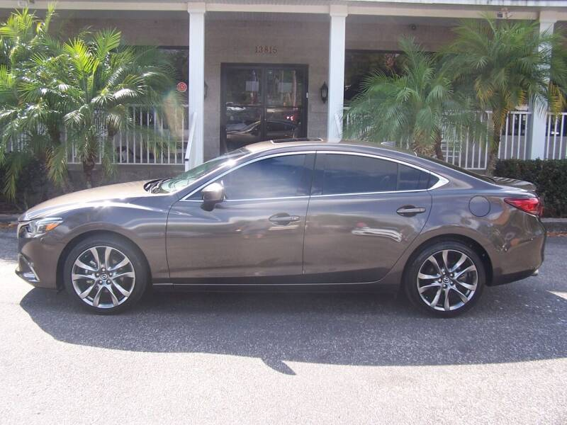 2017 Mazda MAZDA6 for sale at Thomas Auto Mart Inc in Dade City FL