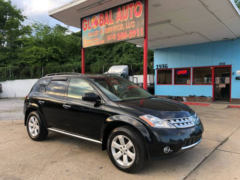 2007 Nissan Murano for sale at Global Auto Sales and Service in Nashville TN