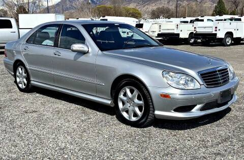 2003 Mercedes-Benz S-Class for sale at Shamrock Group LLC #1 in Pleasant Grove UT