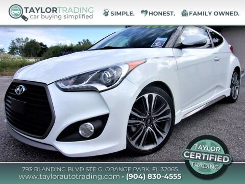 2016 Hyundai Veloster for sale at Taylor Trading in Orange Park FL