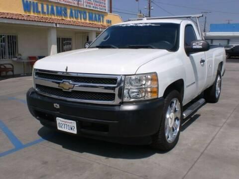 2009 Chevrolet Silverado 1500 for sale at Williams Auto Mart Inc in Pacoima CA
