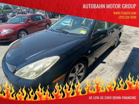 2006 Lexus ES 330 for sale at Autobahn Motor Group in Willow Grove PA