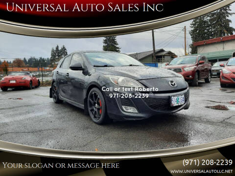 2011 Mazda MAZDA3 for sale at Universal Auto Sales Inc in Salem OR
