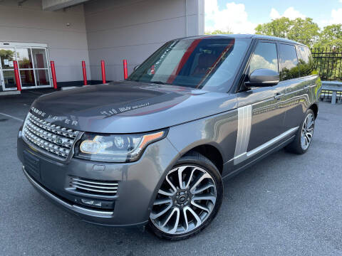 2014 Land Rover Range Rover for sale at Ultimate Motors in Port Monmouth NJ