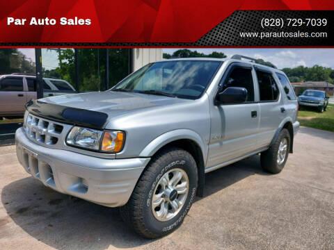 2000 Isuzu Rodeo for sale at Par Auto Sales in Lenoir NC