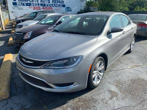 2015 Chrysler 200 for sale at Simon's Auto Sales in Detroit MI