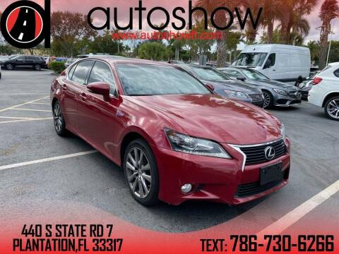 2015 Lexus GS 350 for sale at AUTOSHOW SALES & SERVICE in Plantation FL