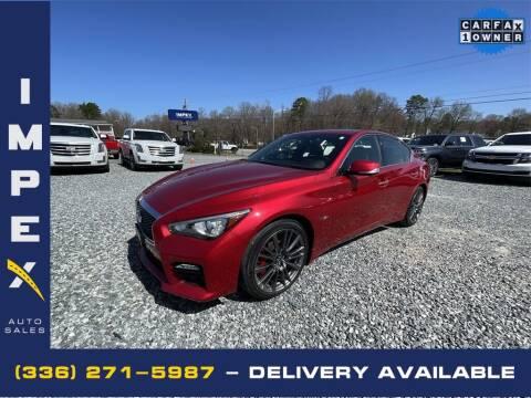 2017 Infiniti Q50 for sale at Impex Auto Sales in Greensboro NC