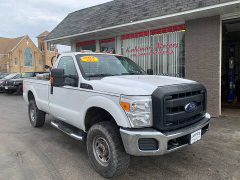 2015 Ford F-250 Super Duty for sale at KUHLMAN MOTORS in Maquoketa IA