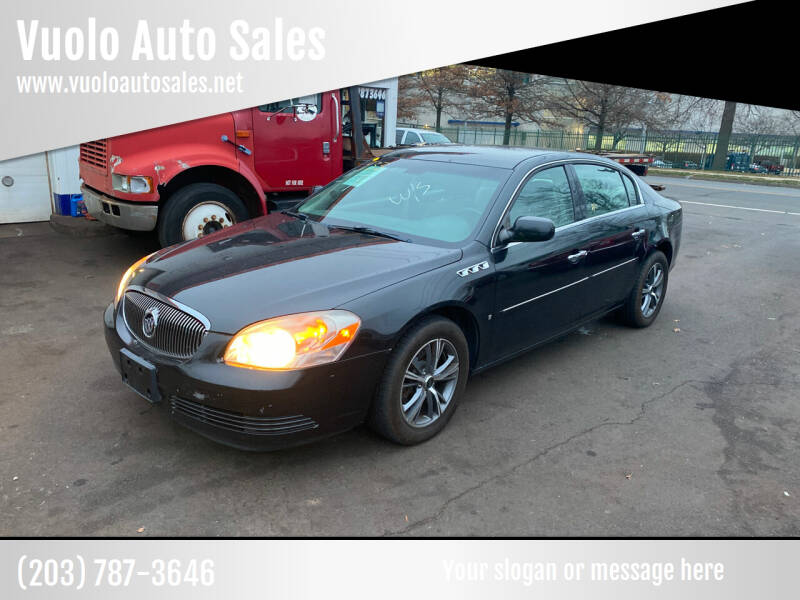 2008 Buick Lucerne for sale at Vuolo Auto Sales in North Haven CT
