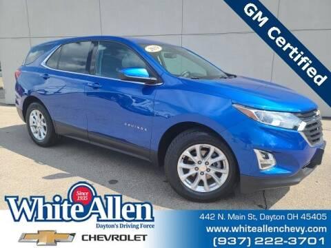 2019 Chevrolet Equinox for sale at WHITE-ALLEN CHEVROLET in Dayton OH