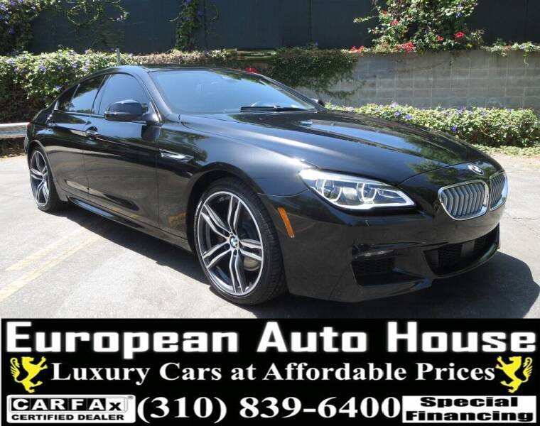 2018 BMW 6 Series for sale at European Auto House in Los Angeles CA