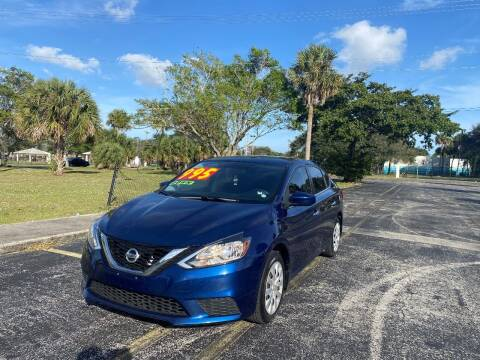 2017 Nissan Sentra for sale at Lamberti Auto Collection in Plantation FL