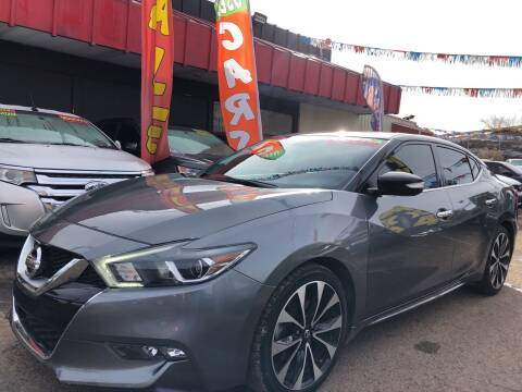 2017 Nissan Maxima for sale at Duke City Auto LLC in Gallup NM