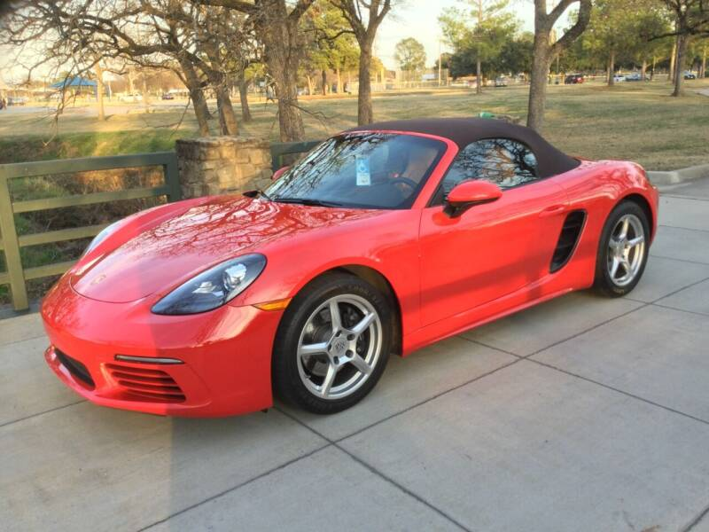 2018 Porsche 718 Boxster for sale at TEXAS MOTOR WORKS in Arlington TX