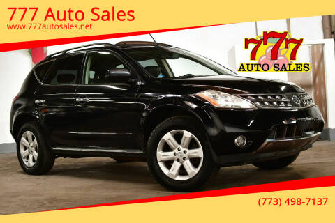 2006 Nissan Murano for sale at 777 Auto Sales in Bedford Park IL