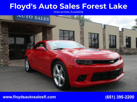 2014 Chevrolet Camaro for sale at Floyd's Auto Sales Forest Lake in Forest Lake MN