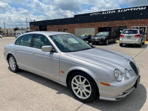 2002 Jaguar S-Type for sale at Motor City Auto Auction in Fraser MI