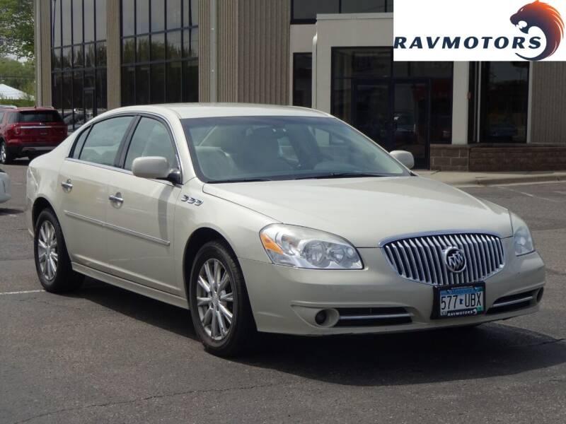 2011 Buick Lucerne for sale at RAVMOTORS 2 in Crystal MN