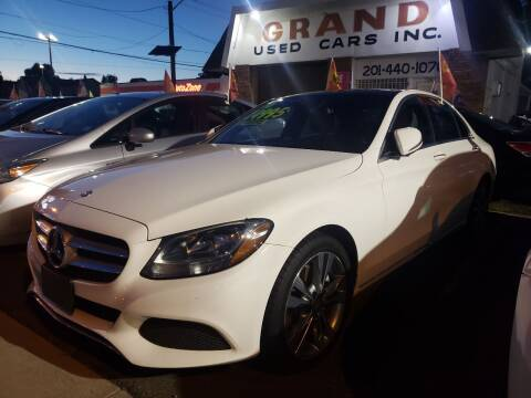 2016 Mercedes-Benz C-Class for sale at GRAND USED CARS  INC in Little Ferry NJ