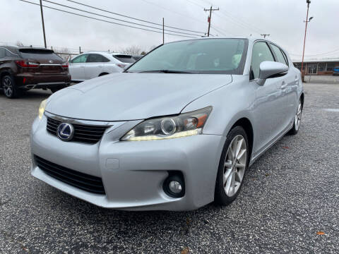 2012 Lexus CT 200h for sale at Signal Imports INC in Spartanburg SC