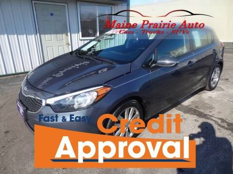 2016 Kia Forte5 for sale at Maine Prairie Auto INC in Saint Cloud MN