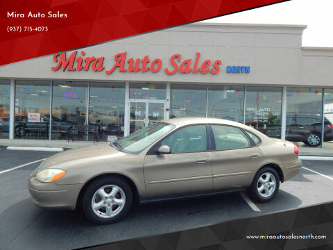 2003 Ford Taurus for sale at Mira Auto Sales in Dayton OH