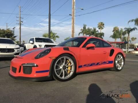 2016 Porsche 911 for sale at BLACK LABEL AUTO FIRM in Riverside CA