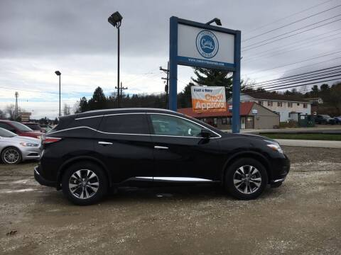 2015 Nissan Murano for sale at Corry Pre Owned Auto Sales in Corry PA