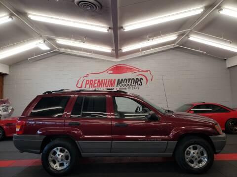 2000 Jeep Grand Cherokee for sale at Premium Motors in Villa Park IL