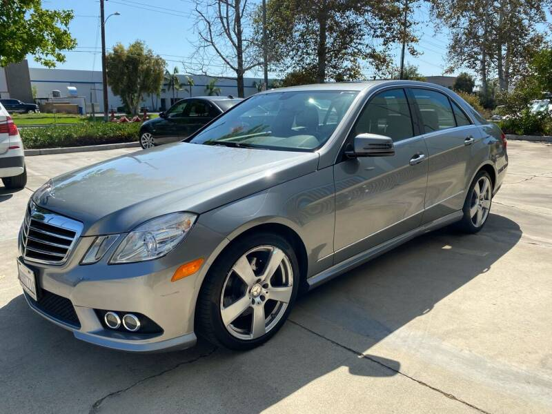 2010 Mercedes-Benz E-Class for sale at 7 Auto Group in Anaheim CA