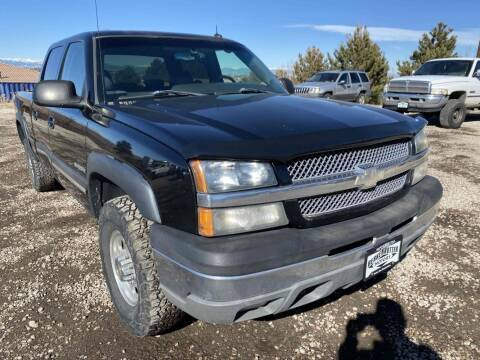2003 Chevrolet Silverado 1500HD for sale at BERKENKOTTER MOTORS in Brighton CO